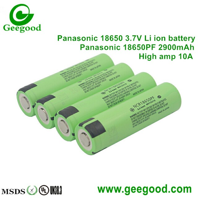 Japan Panasonic NCR18650PF 18650 2900mah 10A high power Li-ion battery