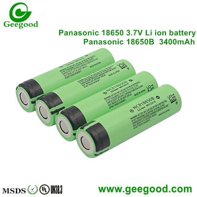 Panasonic 18650B 3400mah high capacity good quality 18650 battery