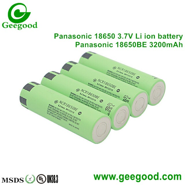 Panasonic 18650BE 3200mAh 18650 3.7V lithium batteries