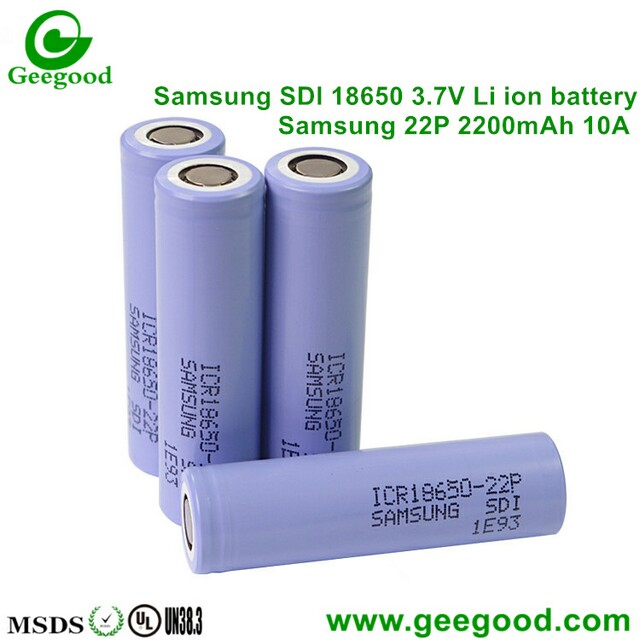 Samsung 22P 22PM 2200mAh 10A high amp 18650 battery for scooter/ e-vehicle