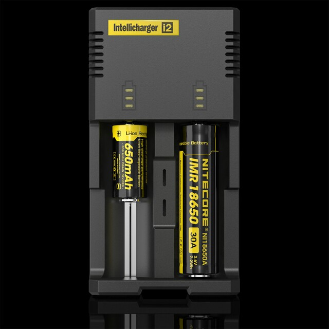 2 bay charger Nitecore  i2 / 18650 battery charger