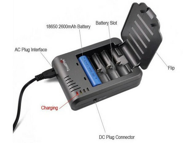 Trustfire TR-003 CHEAP 4 bay battery charger