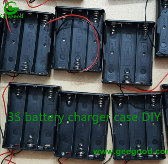 3S battery charger case DIY 3 series battery charge case