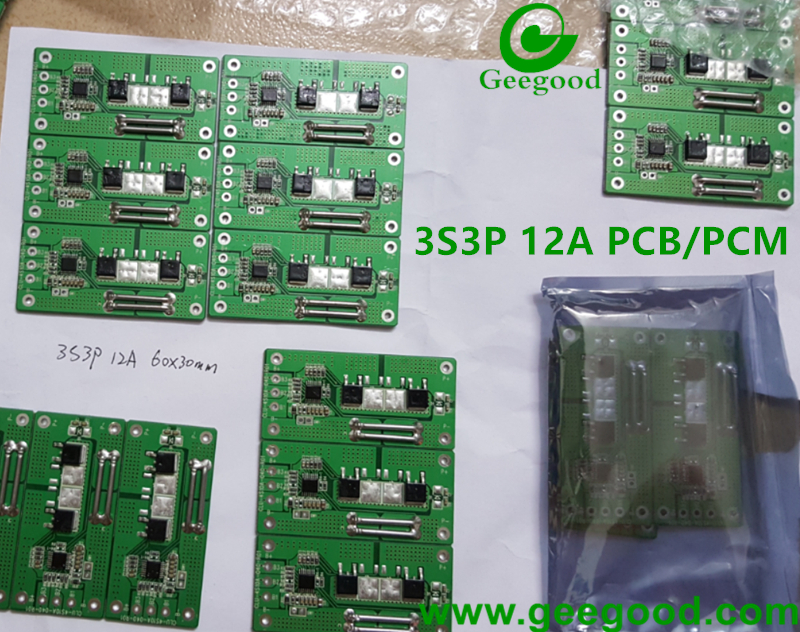 1S 2S 3S 4S 6S 8S 12S PCB PCM BMS for batery pack