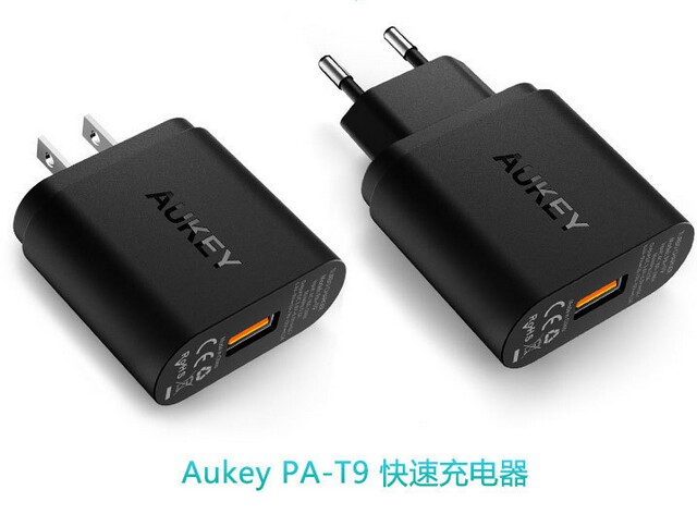 Aukey AIPOWER USB2.0 usb3.0 universal travel usb quick charge wall charger station PA-T9