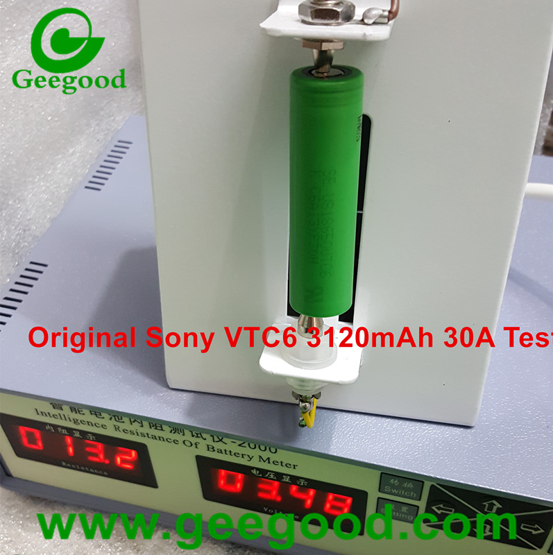 Original Sony US18650VTC6 18650 VTC6 3120mAh 30A max 60A 18650 power battery