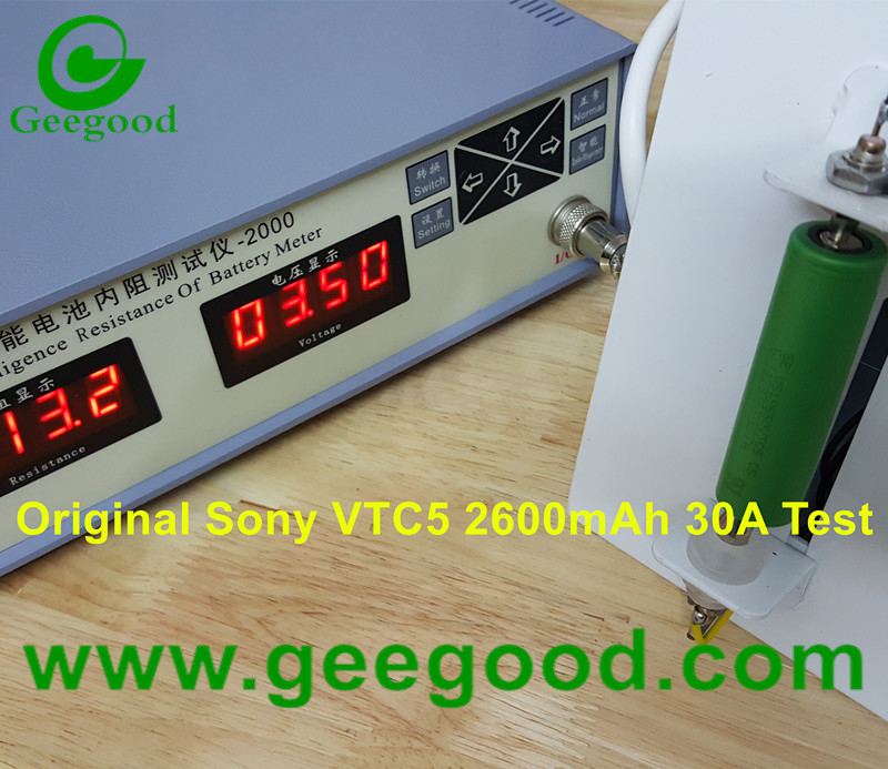 Original Sony VTC5 2600mAh 30A powr battery Sony US18650VTC5