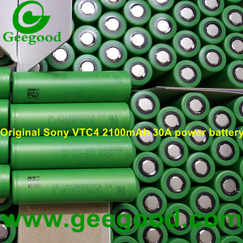Sony US18650VTC4 18650 VTC4 2100mAh 30A cheap price Sony power battery