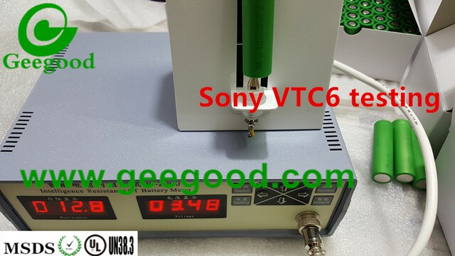 Sony VTC6 3120mAh min 3000mAh 30A max 60A 18650 power battery