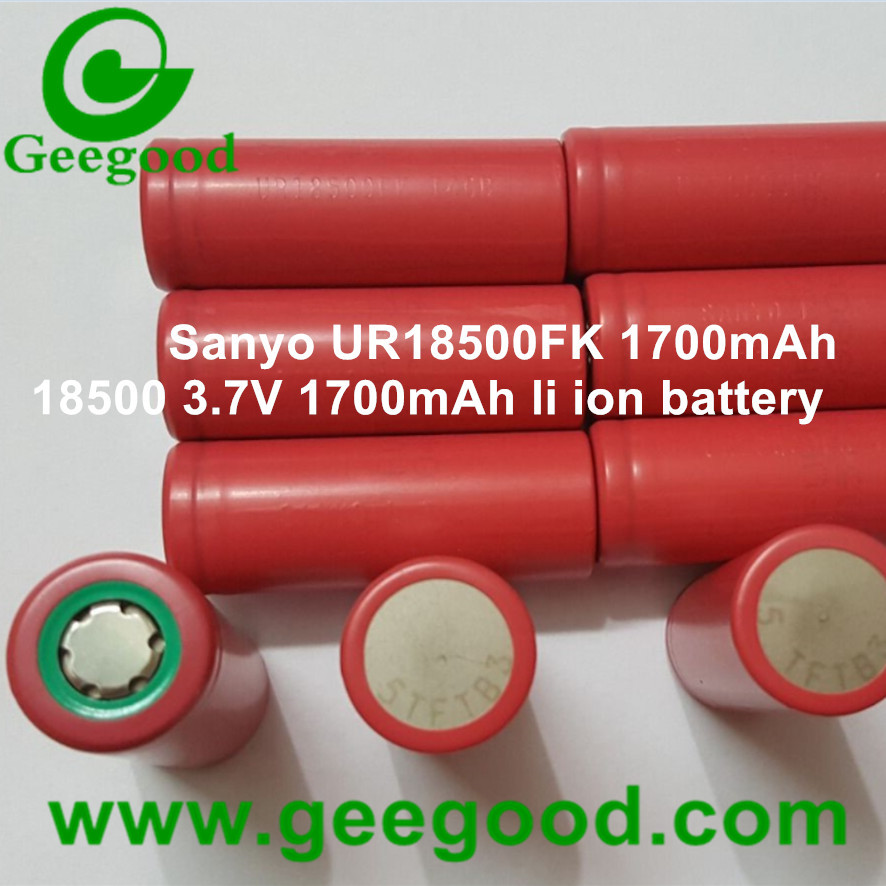 original Japan Sanyo UR18500FK UR18500F 1700mAh 18500 3.7V li ion battery