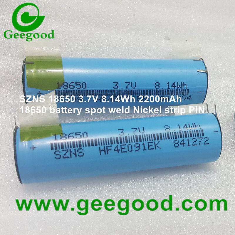 18650 battery with spot weld Nickel strip tabs all battery can welding nickel strip nickel PIN