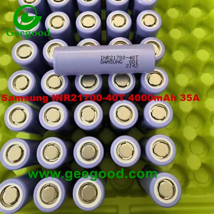 Samsung INR21700-40T 21700 40T 4000mAh 35A 3.7V li-ion battery