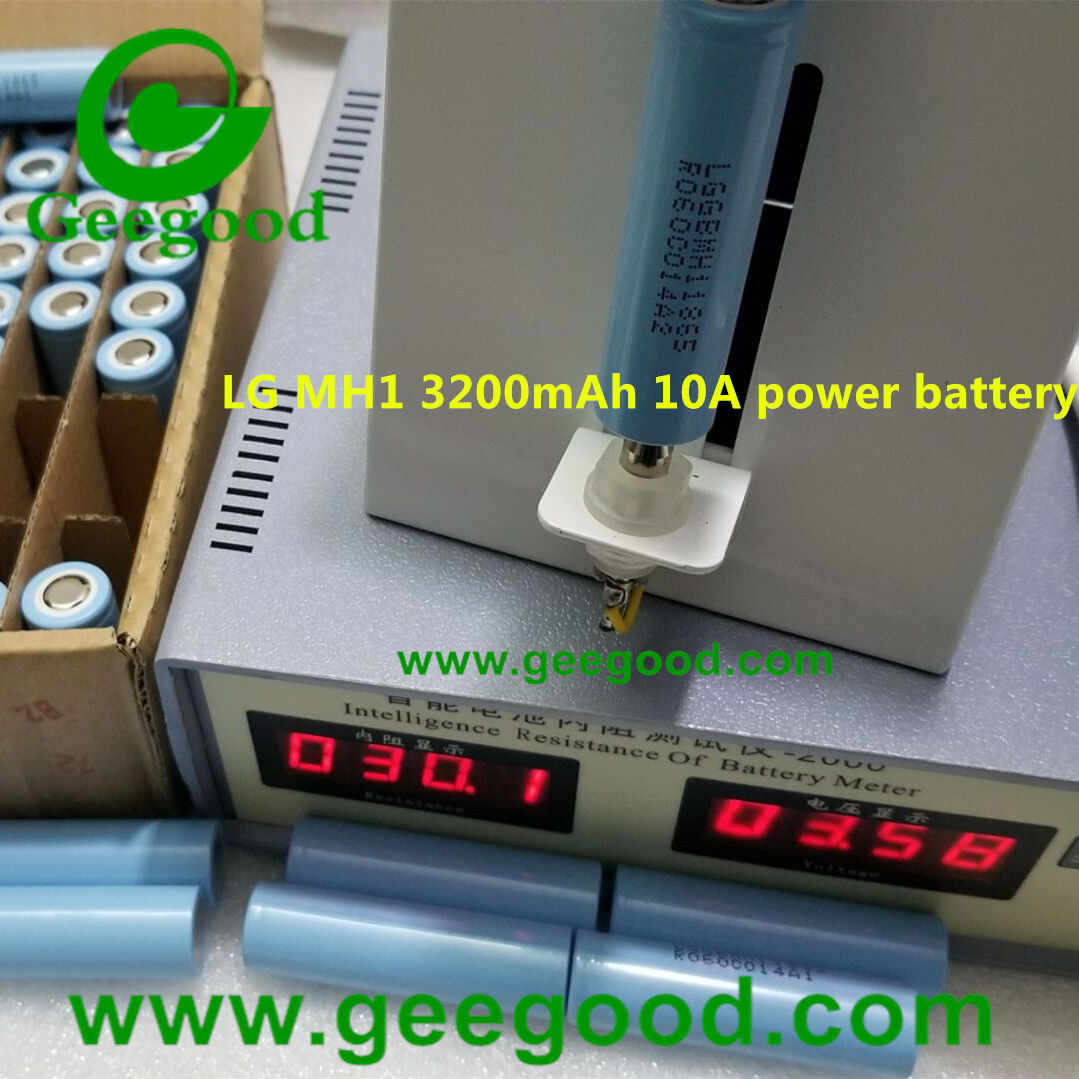 origin LG MH1 3200mah min 3100mAh LGDBMH11865 LGGBMH11865 18650 10A EV power battery