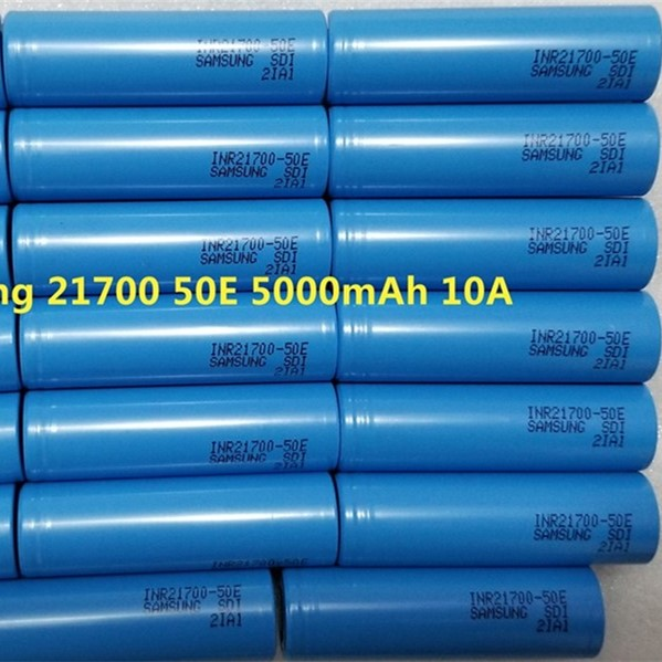 Samsung 21700 50E INR21700-50E 5000mAh 10A 21700 3.7V rechargeable Li-ion battery